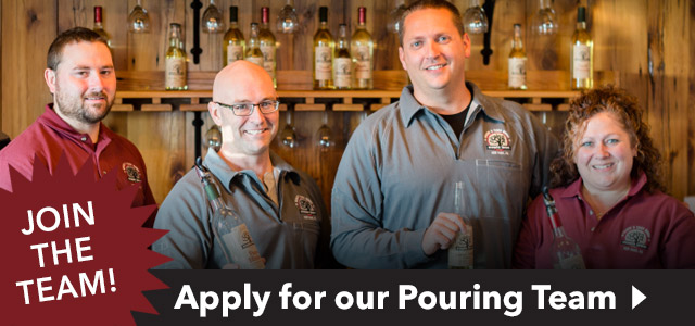 Employment Opportunities - Apply for a Wine Pouring Winery Position