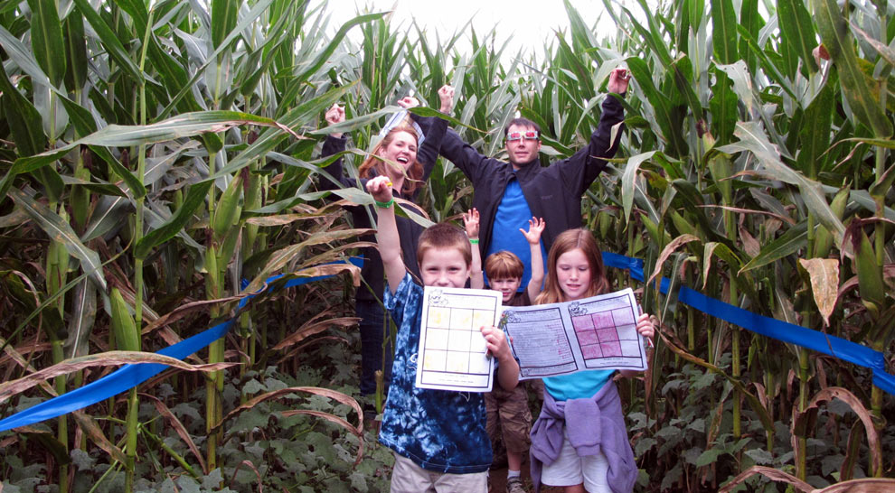 Corn Maze Fun - Pennsylvnaia