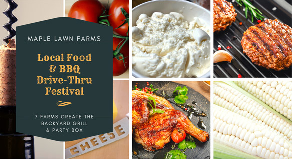 Local Food & BBQ for our FINAL Spring Drive-Thru Festival